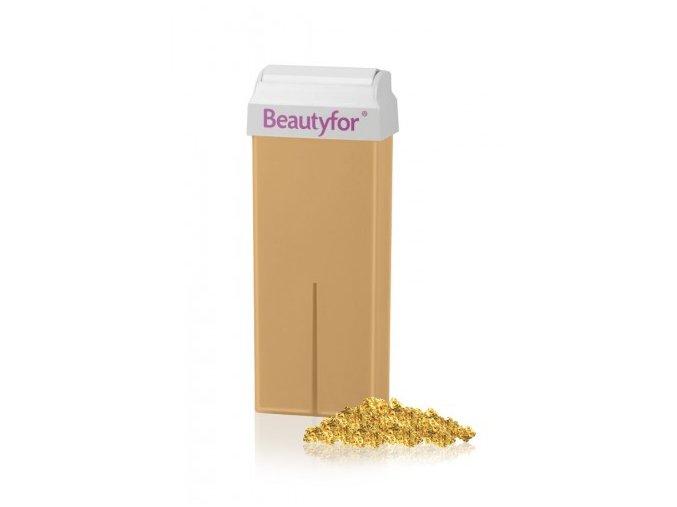 BEAUTYFOR® arany micromica szőrtelenítő gyanta 100 ml