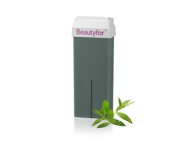 Beautyfor® szortelenito gyantapatron ausztrál teafa olajjal 100 ml