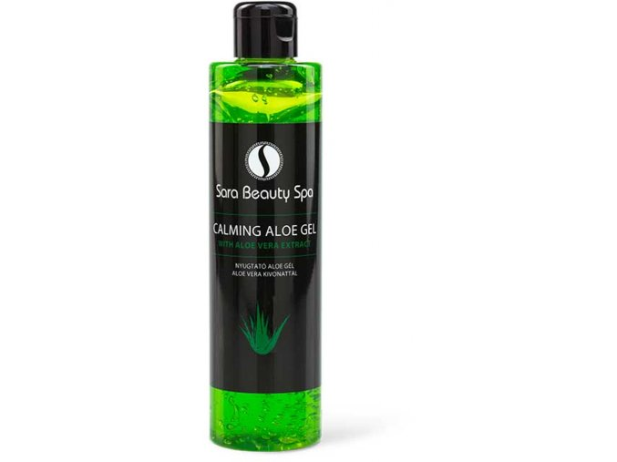 sbs274 bornyugtató gel sara beauty spa aloe calming gel aloe vera 250ml