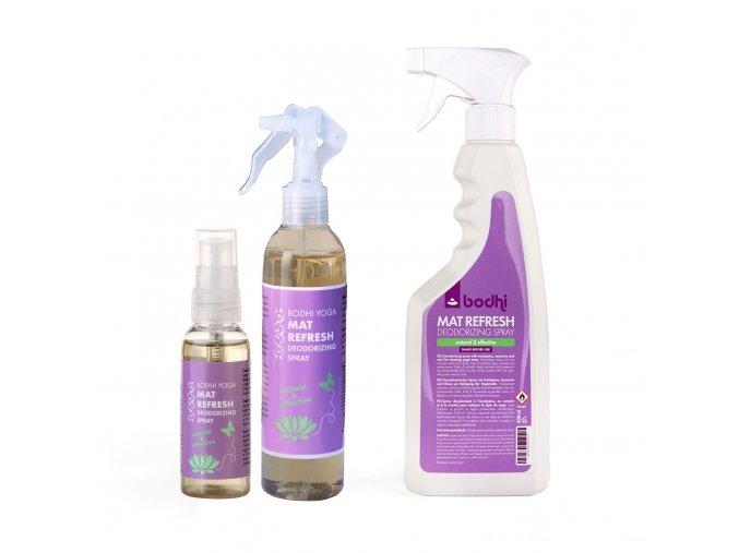 bodhi mat refresher joga matrac tisztito spray 3 meret