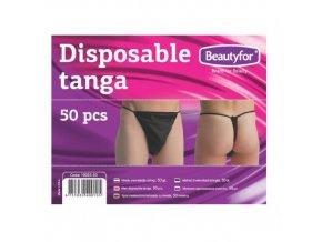 Beautyfor® eldobható férfi tanga nemszőtt textíliából (50 db)