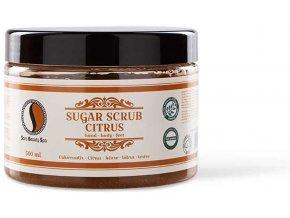 sbs214 sara beauty spa sugar scrub citrus cukkoradir citrus 500ml