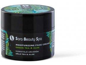 SBS271 sara beauty spa hidratalo arckrem zold tea aloe 50ml