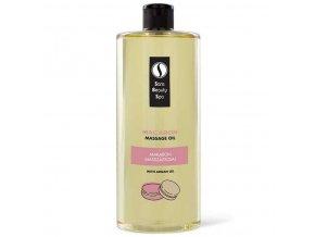 Sara Beauty Spa novenyi termeszetes masszazsolaj  Macaron 250 ml es 1000 ml