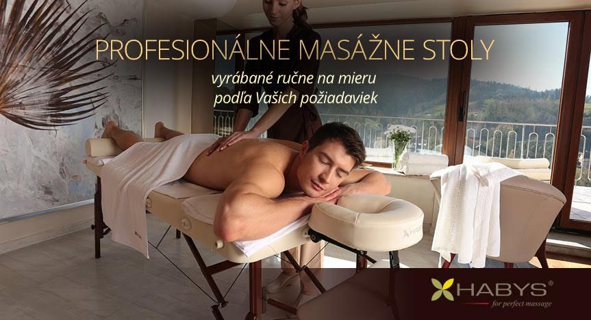 Profesionálne masážne stoly HABYS