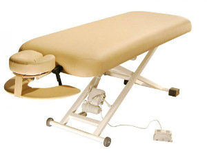 Elektrické masážne lehátka