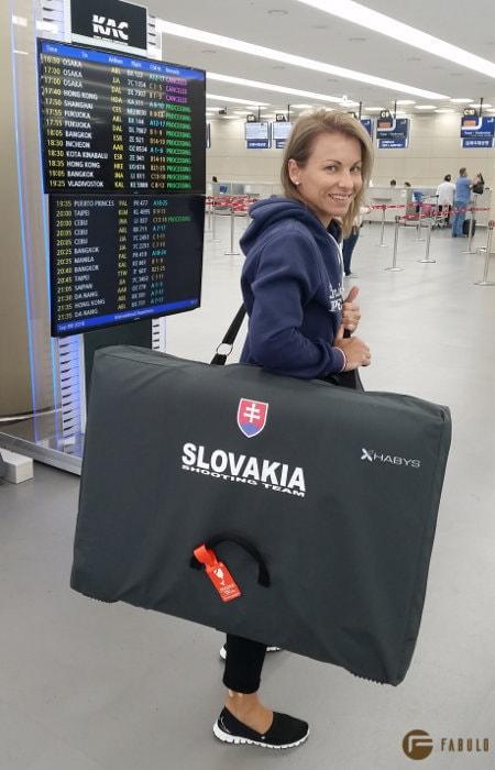 Varga Erik, sportlövész - Habys Aero prenosné masažné lehátko 3