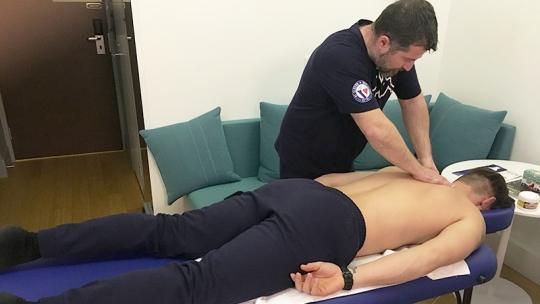 Slovan, Michal Nemček - Prenosné masažné lehátko Fabulo Titan