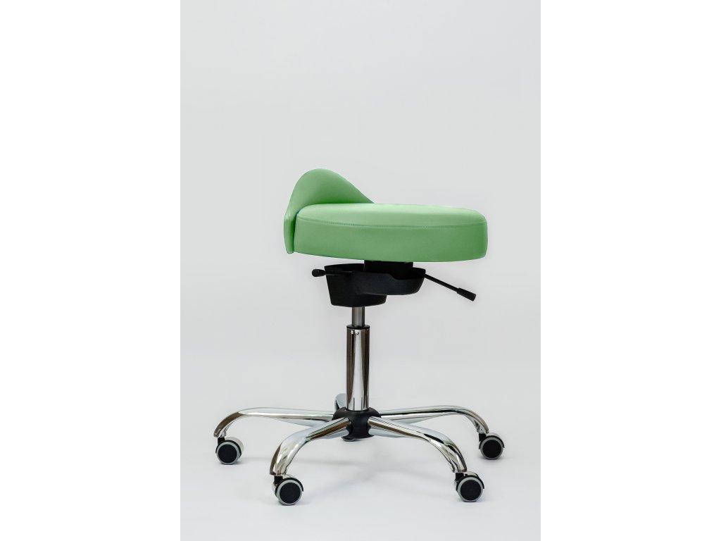 4 kozmeticka stolicka zdravotna ergonomicka stolicka spinergo beauty cervena otv