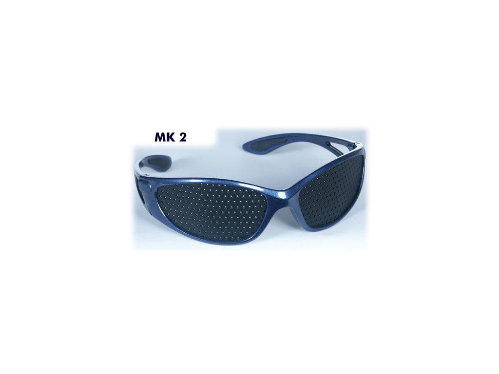 8ed495d0e dierkovane okuliare trener oci vision fix modre sport