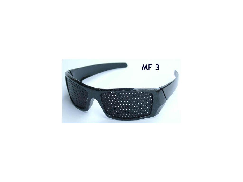 18241a5e7 dierkovane okuliare trener oci vision fix cierne elegant mf3