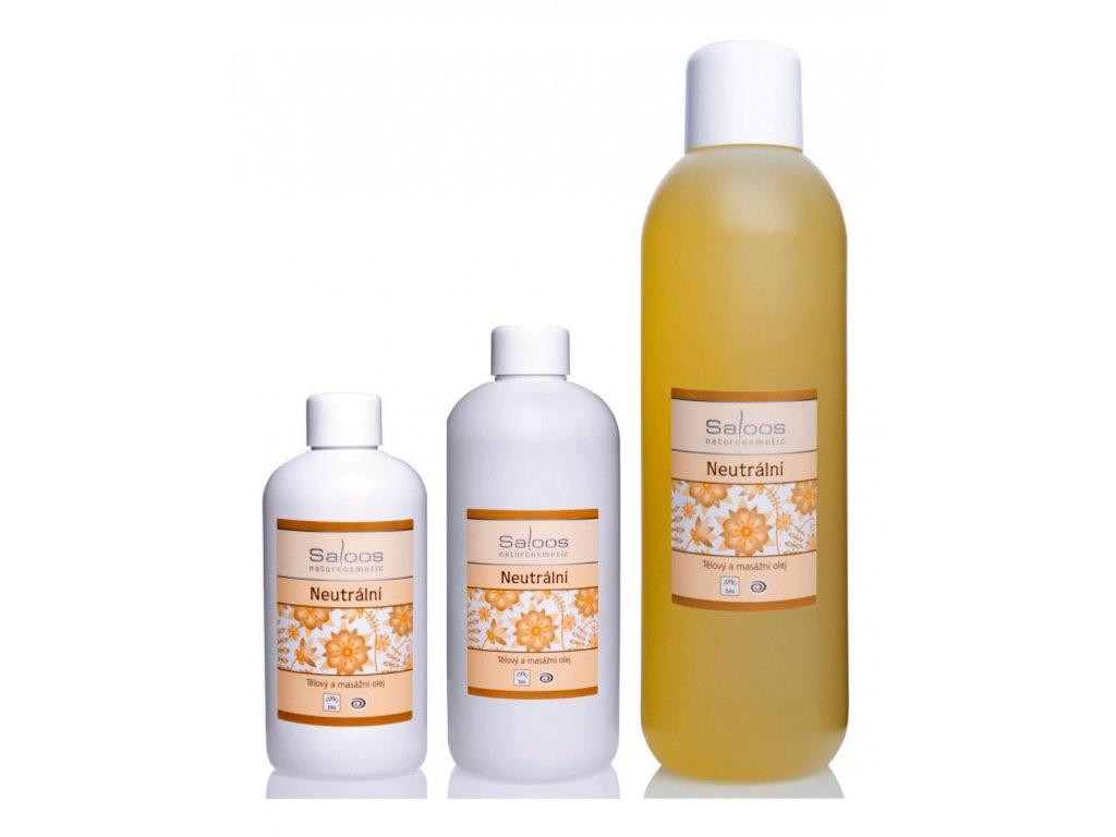 saloos bio rastlinny masazny olej Neutralny