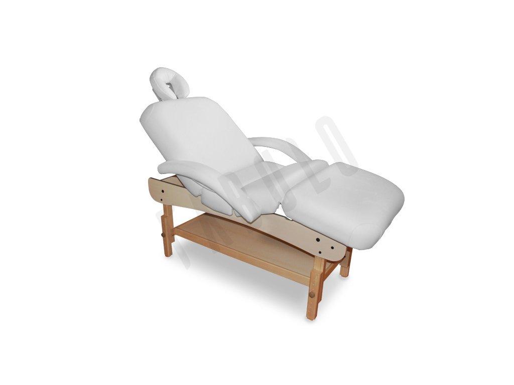 pevne drevene masazne lehatko spa deluxe comfort biela 4