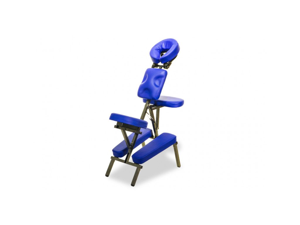 masazna stolicka clap tzu ultralight set modra new
