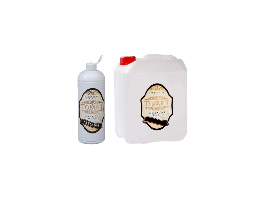 tomfit masazny olej mineralny zakladny 1000 5000 ml 13 0136