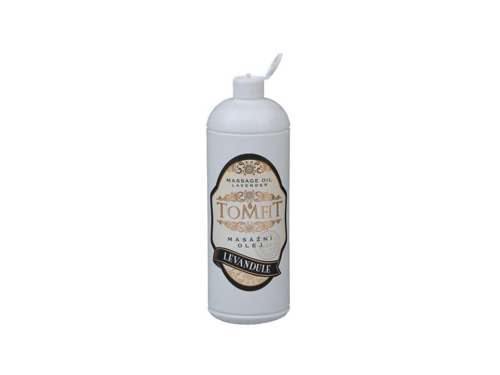 tomfit masazny olej mineralny levandulovy 1000 ml 13 0134