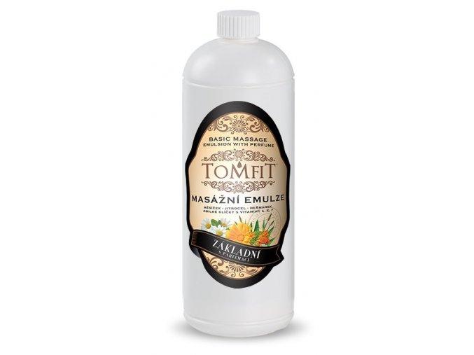 tomfit masazna emulzia zakladna s parfumaciou 15 0055