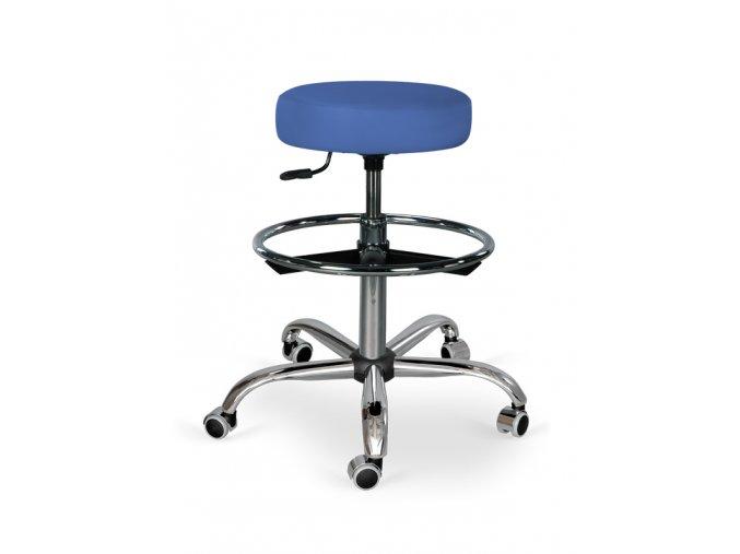 Kozmetická stolička s podnožkou HABYS® Omega  19 farieb