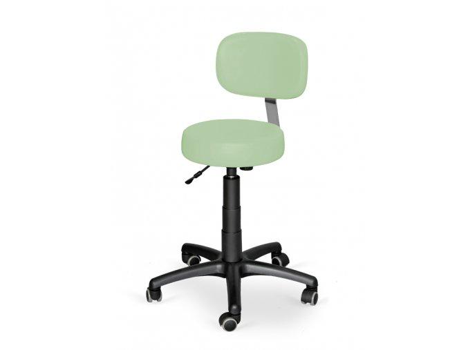 Kozmetická stolička s operadlom HABYS® Stella-II  6 farieb