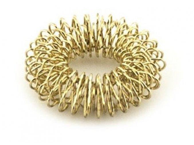 masazny prsten akupresurny 2 zlata
