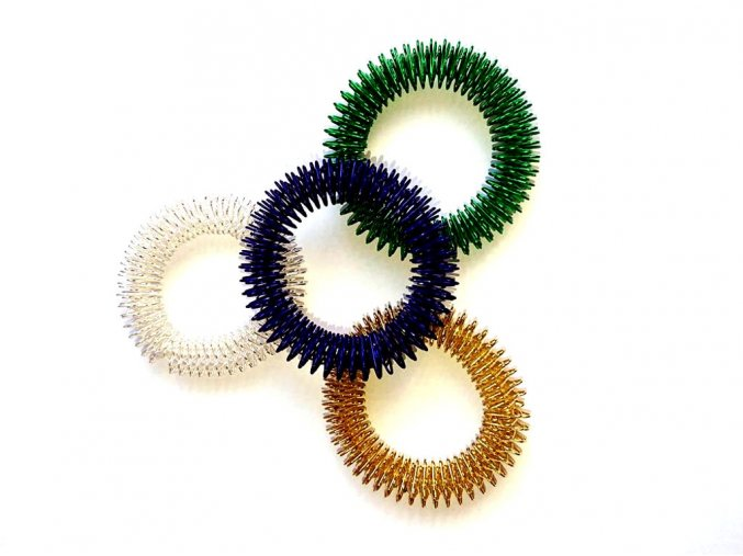 masazny prsten akupresurny naramok farby