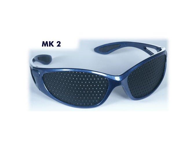 dierkovane okuliare trener oci vision fix modre sport