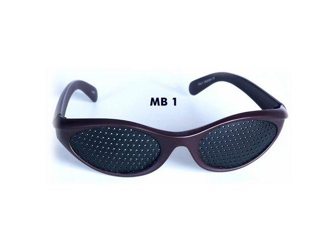dierkovane okuliare trener oci vision fix hnede original mb1