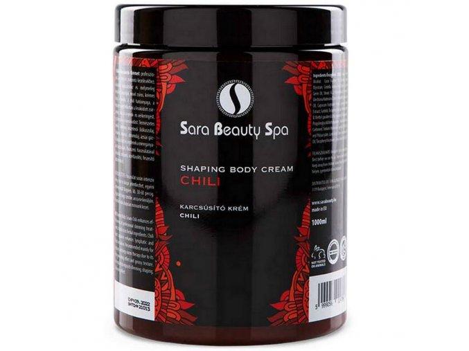SBS203 zostihlujuci krem masazny sara beauty spa paprika 500ml