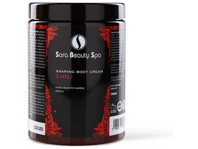 paprikovy masazny krem na formovanie tela sara beauty spa pepper massage cream sbs203 new