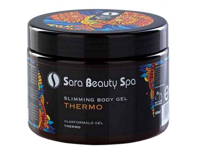 SBS003 masazny telovy gel thermo sara beauty spa thermo body gel 500ml sbs003