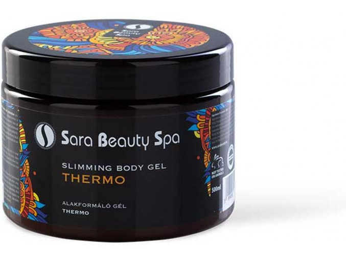 SBS003 masazny telovy gel thermo sara beauty spa thermo body gel 500ml sbs003