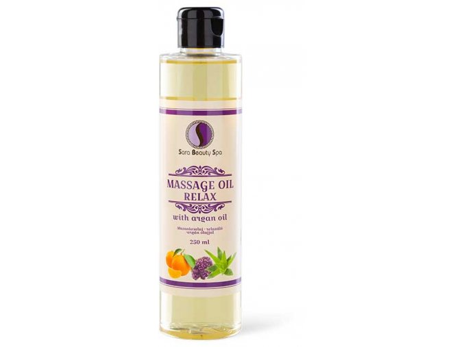 SBS240 sara beauty spa prirodny rastlinny masazny olej relax