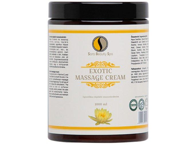 masazny krem exotic sara beauty spa exotic massage cream sbs054