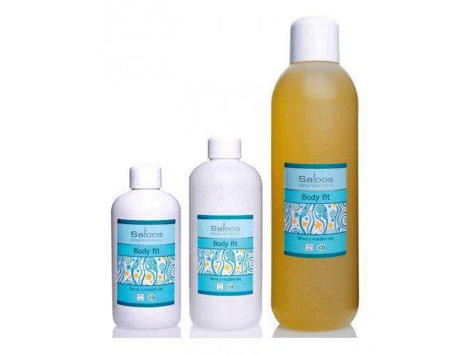 Saloos telový bio rastlinný masážny olej BODY FIT
