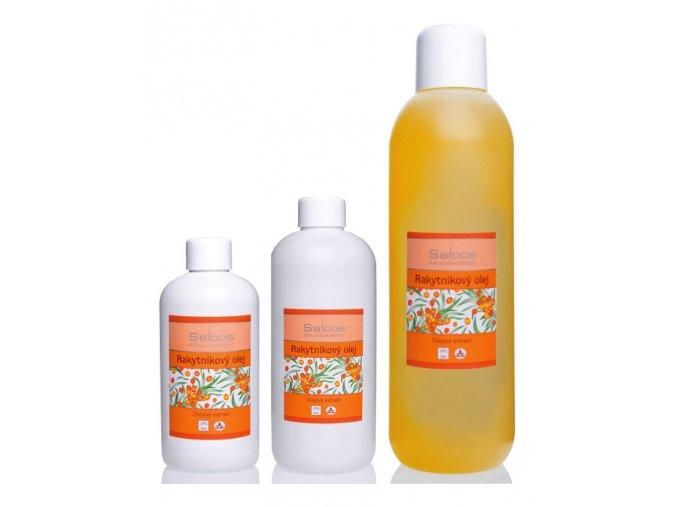 saloos bio masazny olej olejovy extrakt Rakytnikovy