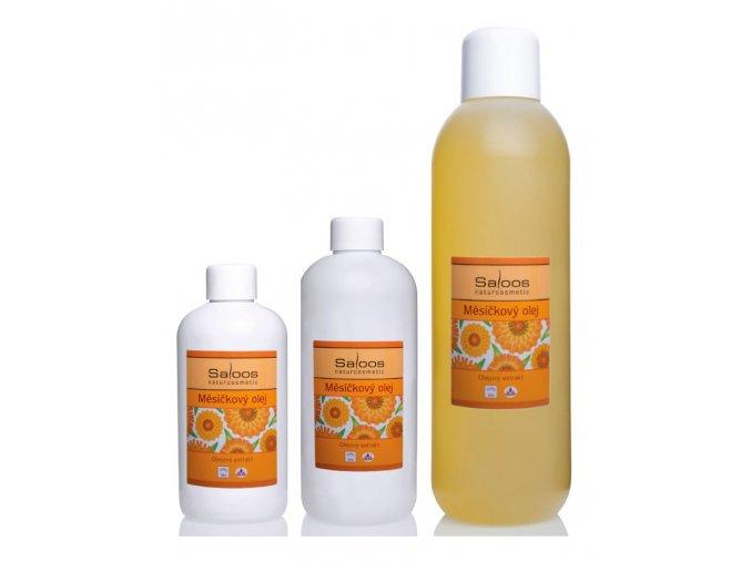 saloos bio masazny olej olejovy extrakt Nechtikovy