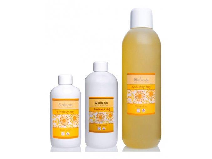 saloos bio masazny olej olejovy extrakt Arnikovy