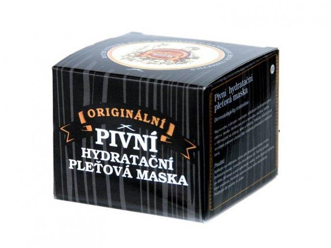 pivna hydratacna pletova maska 100 ml