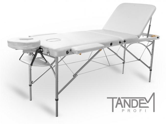 skladaci masazny stol tandem profi a3d biela
