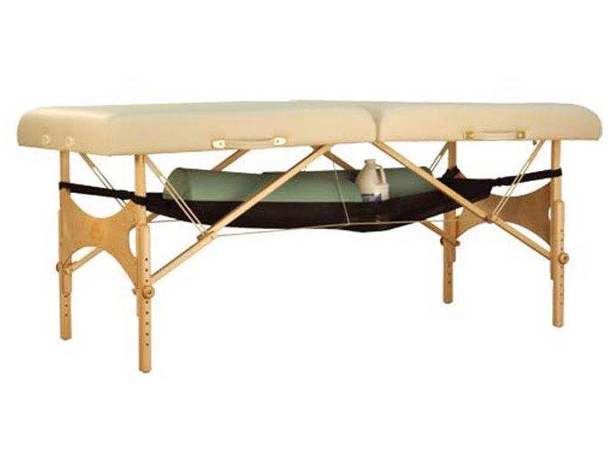 textilna polica pod masazny stol