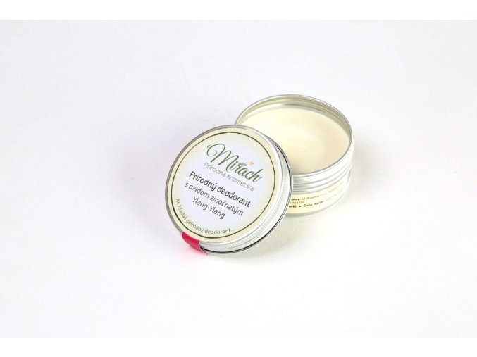 mirach prirodny deodorant s oxidom zinocnatym ylang ylang 2