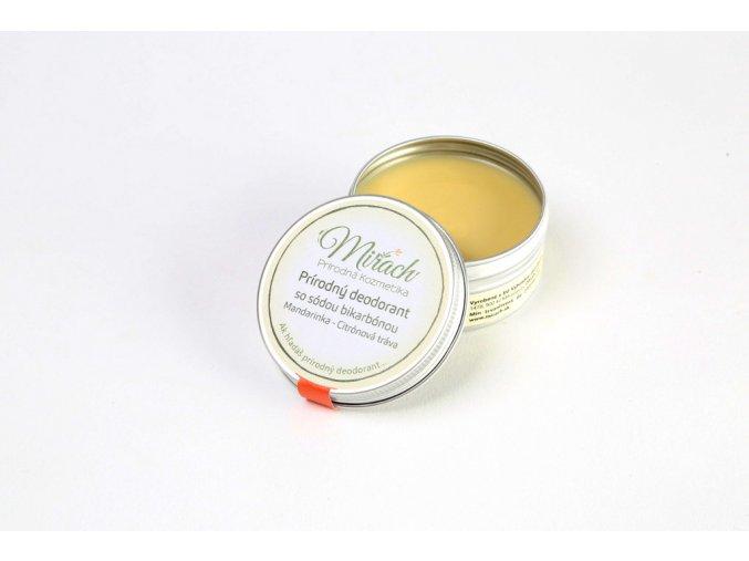 mirach prirodny deodorant so sodou bikarbonou mandarinka citronova trava
