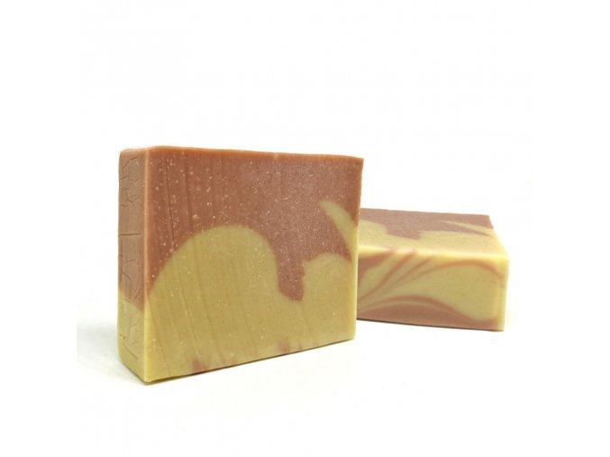 mirach olivove mydlo s kozim mliekom a ruzovym bahnom 1