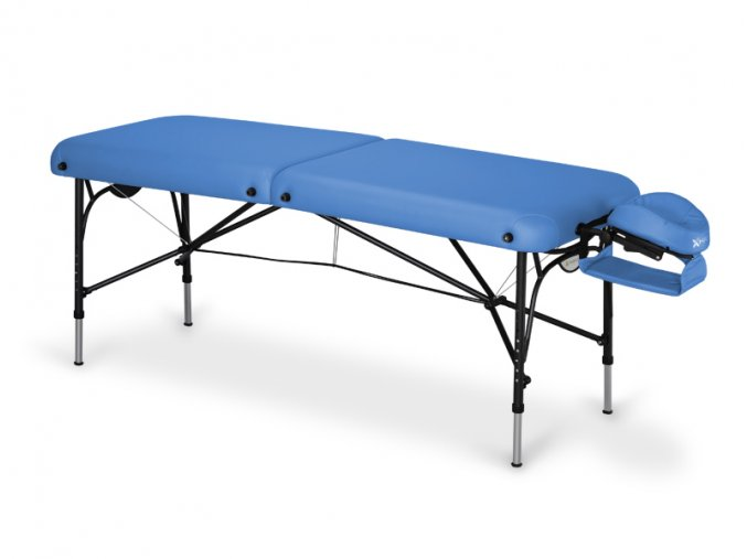 14 skladaci masazny stol hlinikovy habys smart vinyl 23 modra