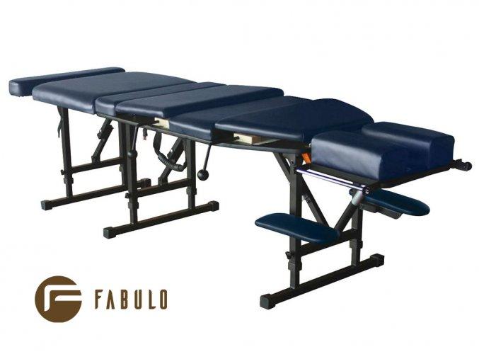 skladaci masazny chiroprakticky stol fabulo chiro 180 modra