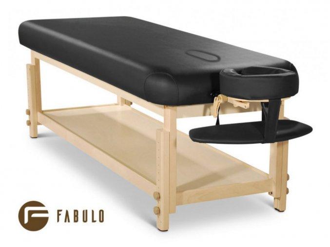 pevne masazne lehatko drevene fabulo spa lux v1 set svetla konstrukcia kremova