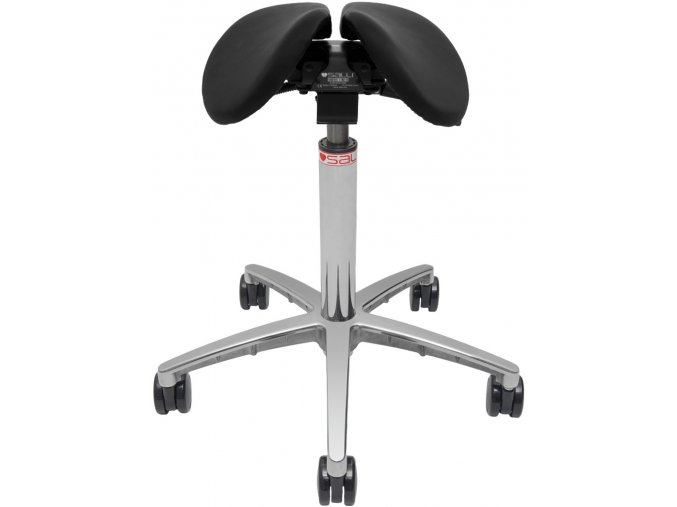 salli ergonomicka sedlova stolicka black otv