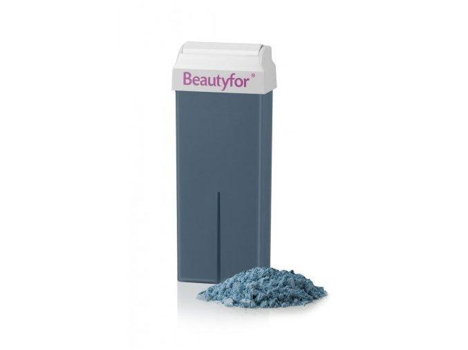 Depilační vosk modrý s azulenem Beautyfor® 100 ml