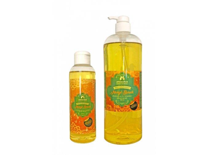 masszazs manufaktura prirodny rastlinny masazny olej mango broskyna