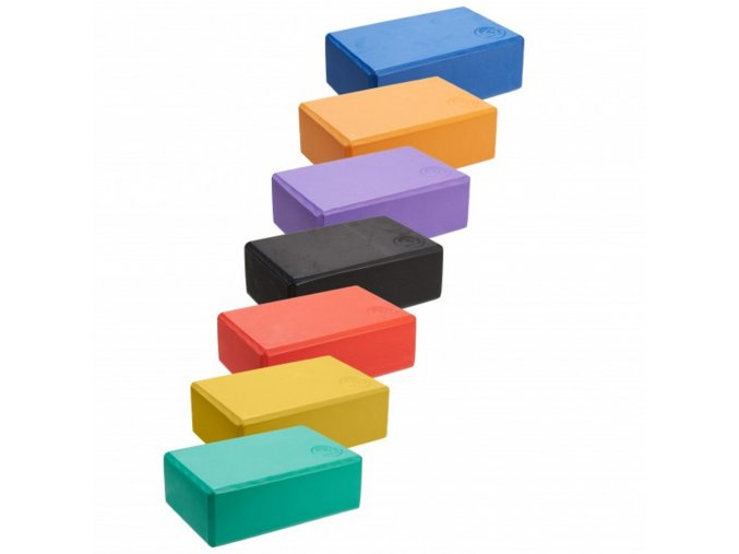 penovy blok na jogu trendy yoga block brick farby